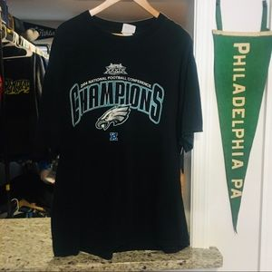 Vintage Philadelphia Eagles 2004 NFC Champs Tee